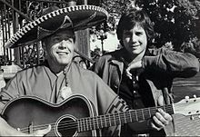 Desi arnaz sr and jr 1974.JPG