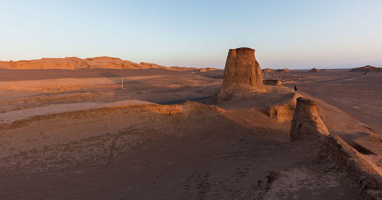 Desierto de Lut. Wikimedia Commons