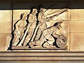Detail of Gilbert Bayes' carvings for the Greater London Fire Brigade HQ - geograph.org.uk - 1588953.jpg