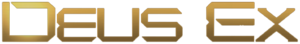 English: Logo for the video game series Deus Ex.