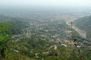 Dharan, Nepal - Dharan from hillside