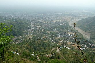 Dharan, Nepal - Dharan from hillside