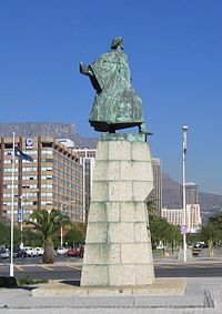 Statue of Dias in Cape Town, South Africa