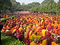 Different Shades of Monks - Mahabodhi Temple.jpg