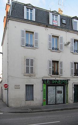 Dijon maison natale Henri VINCENOT