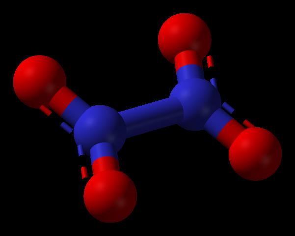 Nitrogen Tetroxide Chemical Structure