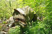 Dinosaur sculptures at Dan yr Ogof (9067).jpg