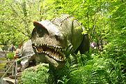 Dinosaur sculptures at Dan yr Ogof (9067).jpg