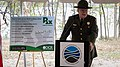 Director Seaver delivers opening remarks at Widewater State Park's grand opening.jpg