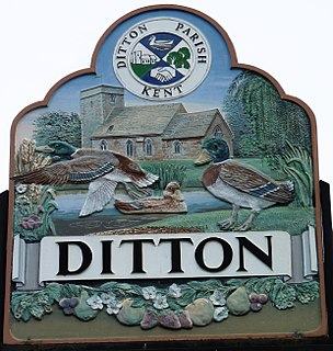 Ditton, Kent Human settlement in England