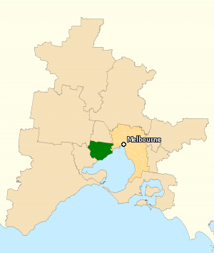 Division of Lalor - Division of Lalor in Victoria, as of the 2016 federal election.