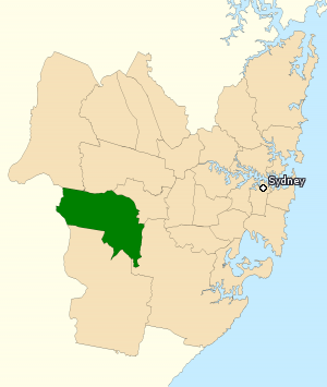 Division of Werriwa - Division of Werriwa in New South Wales, as of the 2016 federal election.