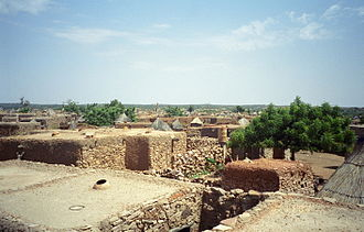 Bandiagara Cercle - Village of Djiguibombo in the commune of Doucoumbo