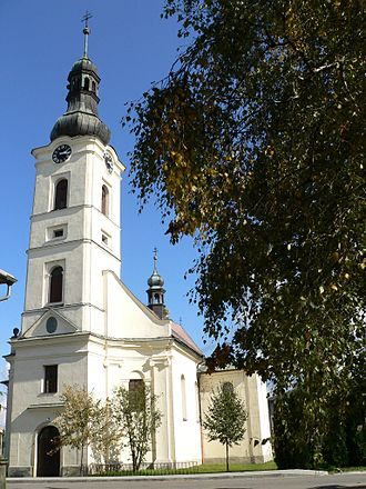 Dobrá (Frýdek-Místek District) - Saint George Church