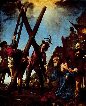 1646 in art - Image: Dolci Crocifissione Andrea