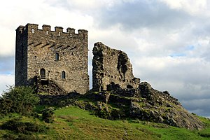 Llywelyn the Great - Dolwyddelan Castle was built by Llywelyn; the old castle nearby may have been his birthplace.