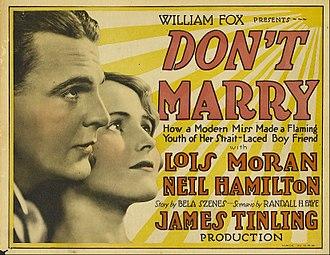 Don't Marry - Lobby card