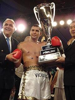 Doug Viney New Zealand boxer and kickboxer