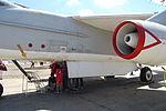 Douglas EKA-3B Skywarrior mid fuseage, port engine, wing (6092119990).jpg