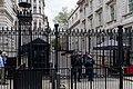 Downing Street gates, London.jpg