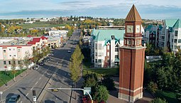 Downtown clocktower St. Albert Alberta.jpg