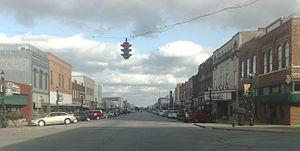 Texoma - Main Street in Denison