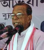 Dr. Bhumidhar Barman, Former Chief Minister of Assam and Agriculture Adviser to the Chief Minister of Assam addressing at the Public Information Campaign on Bharat Nirman, organized by Press Information Bureau (cropped).jpg