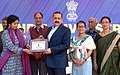 Dr. Jitendra Singh being presented a memento at the inauguration of the All India Civil Services Cricket Tournament 2014-15.jpg