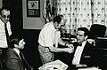 Dr. Richard A. Jensen and Sen. Paul Simon.jpg