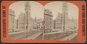 Stephen H. Tyng - Image: Dr. Tyng's Church, Madison Avenue, New York, from Robert N. Dennis collection of stereoscopic views