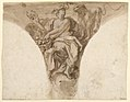 Drawing, Africa, Design for a Pendentive in the Baptismal Vestibule of St. Peter's, Rome, 1713–26 (CH 18110897).jpg