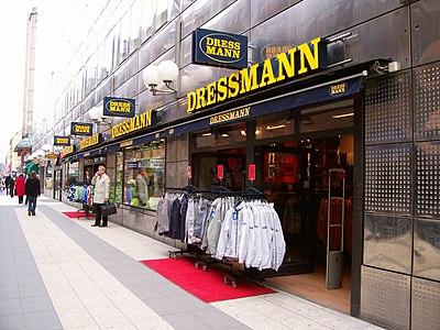 The Branding Source New Logo Dressmann