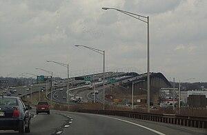 Driscoll Bridge - The Driscoll Bridge (left) and the Edison Bridge (right).