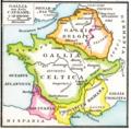 Droysens Hist Handatlas S16 Gallien CAESAR.png