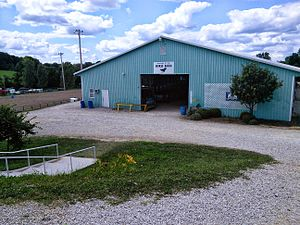 Dubois County 4-H Fairgrounds, located in Jackson Township