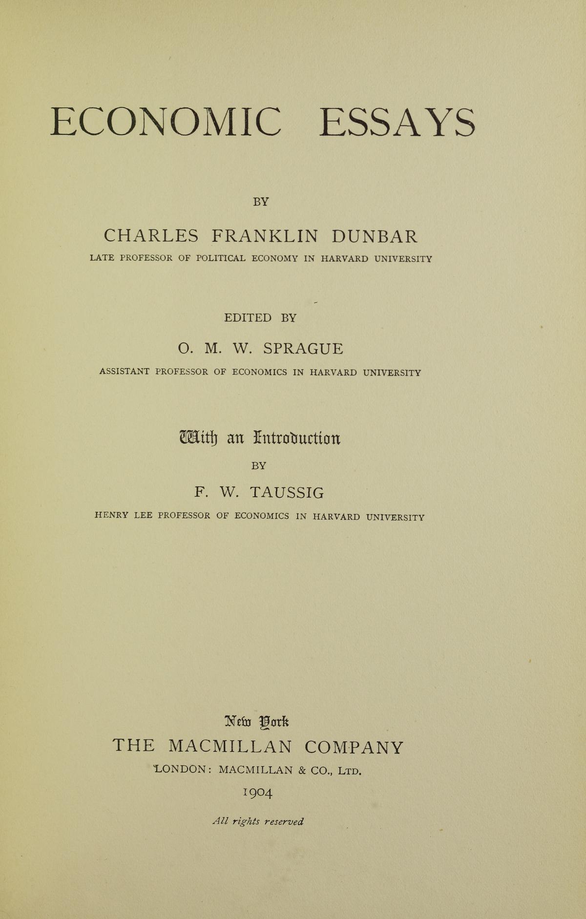 charles franklin dunbar