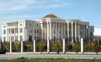 Tajikistan - The Palace of Nations in Dushanbe
