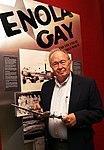 Dutch Van Kirk Navigator of Enola Gay visits AMSE American Museum of Science & Energy Oak Ridge (7514229182).jpg