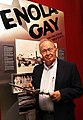 Dutch Van Kirk Navigator of Enola Gay visits AMSE American Museum of Science & Energy Oak Ridge (7514229182).jpg