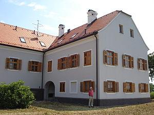 Banfi Manor - Image: Dvorac Banfi, Štrigova zapadno krilo
