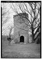 EAST FRONT - Daniel Huff Mill, Lincoln Memorial University, Harrogate, Claiborne County, TN HABS TENN,13-HARRO,1-3.tif