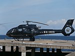 ES-HOG Airbus Helicopters H130 T2 at City Hall Heliport in Tallinn 3 August 2018.jpg