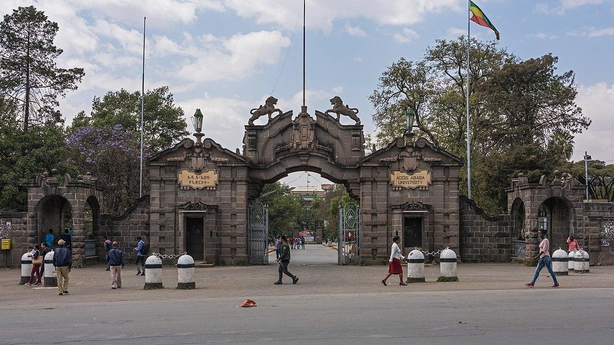Addis Ababa University gate