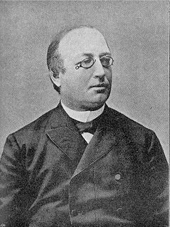 Erik Gustaf Boström Swedish 19ty/early 20th century prime minister