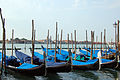 Early Morning Gondolas @ Piazza San Marco (3501153422).jpg
