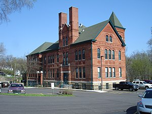 National Register of Historic Places listings in Jo Daviess County, Illinois - Image: East Dubuque IL E Dubuque School 1