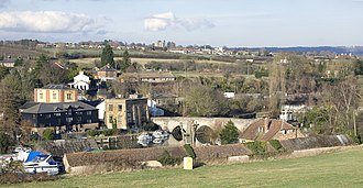 East Farleigh - Image: East Farleigh from Station Hill