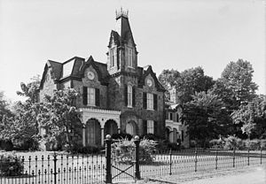 Ebenezer Maxwell House - Image: Ebenezer Maxwell House HABS PA,51 GERM,190 6