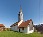 Eberndorf Loibegg 55 Filialkirche hl Magdalena NW-Ansicht 21092015 7682.jpg