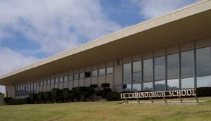 El Camino High School (South San Francisco) - The front of El Camino High School